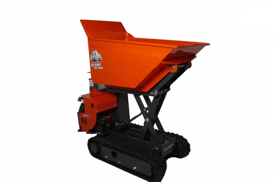 Slanetrac HT1000 Diesel High Discharge Skip Loaders for Hire