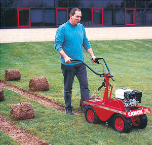 Turf Cutters for Hire